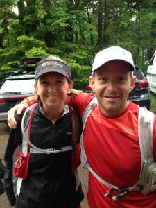 Amy & Cory Smith at the Start (photo: Lisa Smith)