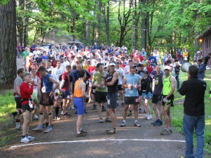 McDonald Forest 50K start