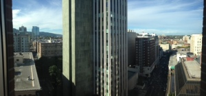 Views of Portland from my room.