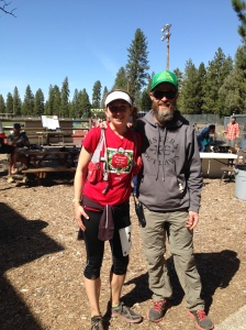 Sean and I at the finish. The best RD ever!