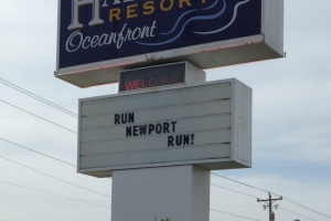 Newport Loves their Marathoners