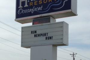 Newport Loves their Marathoners